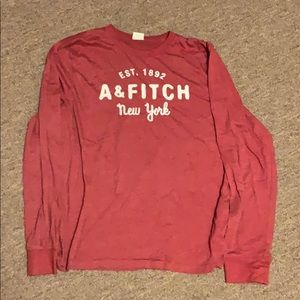 Mens longsleeve abercrombie and fitch shirt